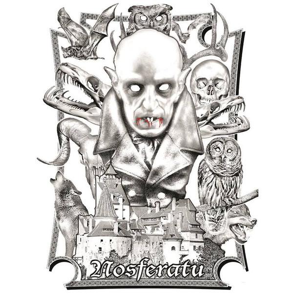 "CITY OF PRAGUE PHILHARMONIC ORCHESTRA Nosferatu – 1922 Film (7 Inch colored vinyl EP) 7"" RSD 2016"