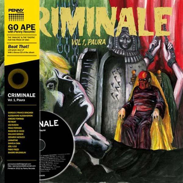 VA: Criminale Vol. 1 - Paura LP+CD