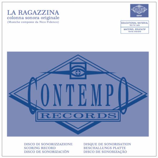 NICO FIDENCO: La Ragazzina (1974 Original Soundtrack) LP