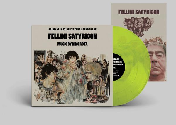 NINO FELLINI: Fellini Satyricon (Original Soundtrack) LP