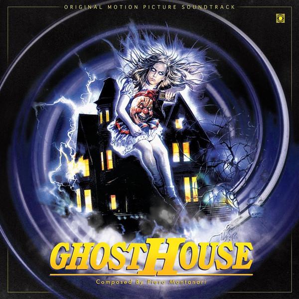 PIERO MONTANARI: Ghosthouse (Original Soundtrack) LP