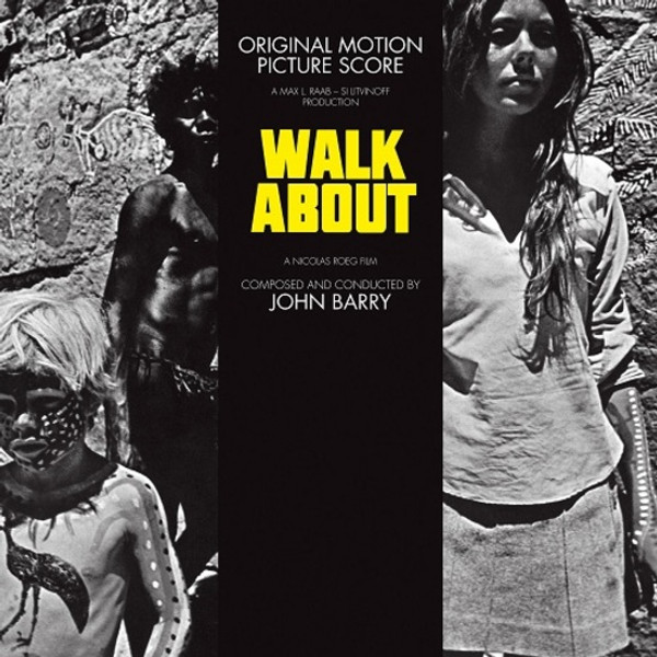 JOHN BARRY: Walkabout (1971 Original Soundtrack) LP