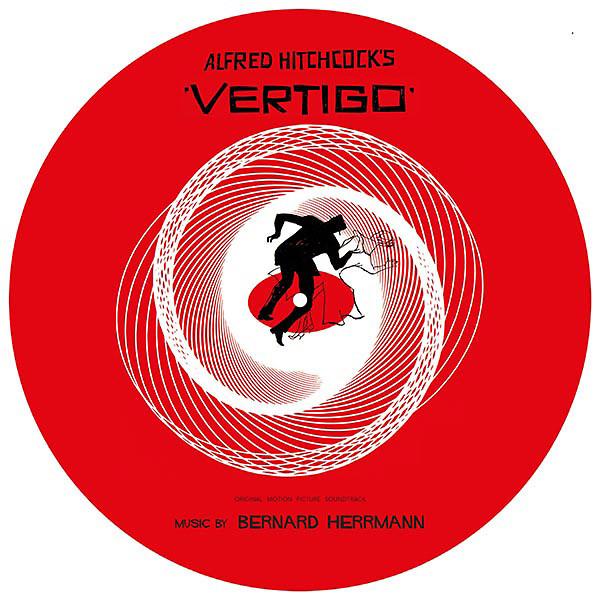 BERNARD HERRMANN: Vertigo PIC. DISC