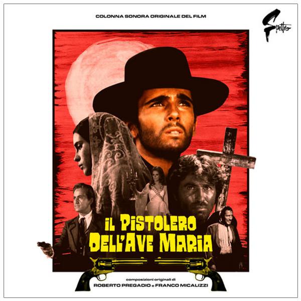 ROBERTO PREGADIO & FRANCO MICALIZZI: Il Pistolero Dell'Ave Maria LP+POSTER