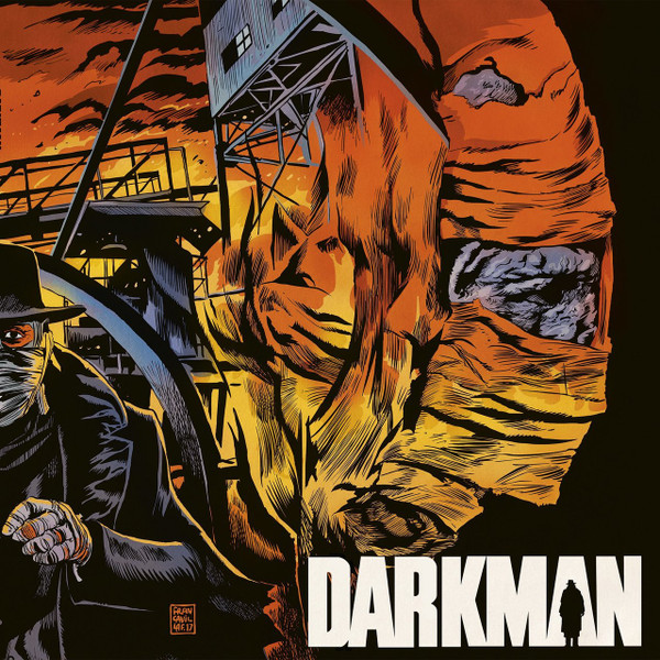 DANNY ELFMAN: Darkman (Original 1990 Motion Picture Score) LP