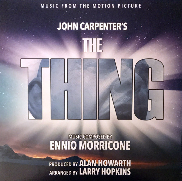 ALAN HOWARTH & LARRY HOPKINS: The Thing: Music From The Motion Picture 2LP