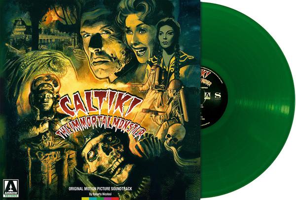 ROBERTO NICOLOSI: Caltiki, The Immortal Monster (Translucent Green) LP