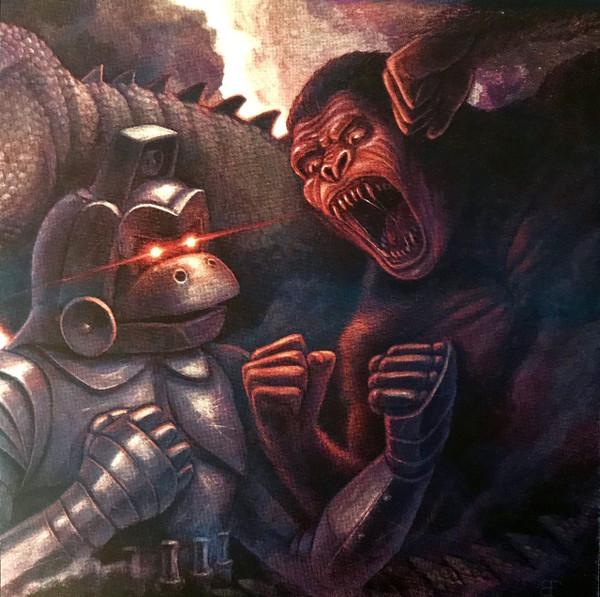 """AKIRA IFUKUBE: King Kong Escapes 12"""" LIMITED EDITION SILVER VINYL"""