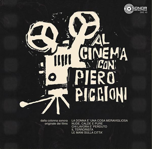 PIERO PICCIONI: Al Cinema Con Piero Piccioni LP