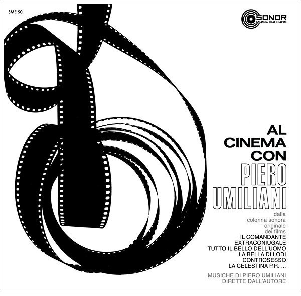 PIERO UMILIANI: Al Cinema Con Piero Umiliani LP