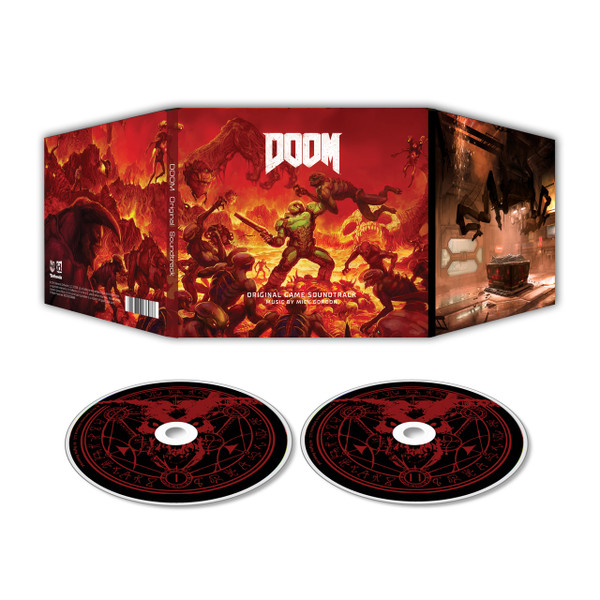 MICK GORDON: Doom (Original Game Soundtrack) 2CD