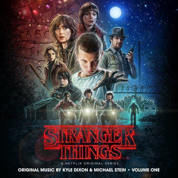 KYLE DIXON & MICHAEL STEIN: Stranger Things Volume One (Upside Down Inter-Dimensional Blue) 2LP