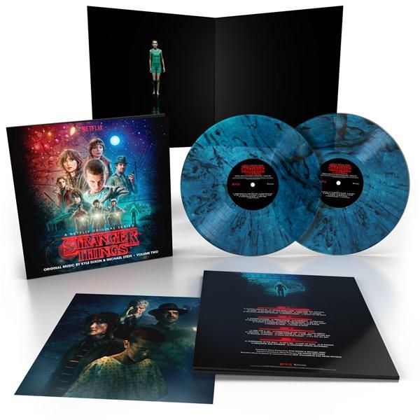 KYLE DIXON & MICHAEL STEIN: Stranger Things Volume Two (Upside Down Inter-Dimensional Blue) 2LP