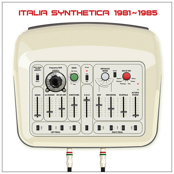 V/A: Italia Synthetica 1981-1985 LP+CD