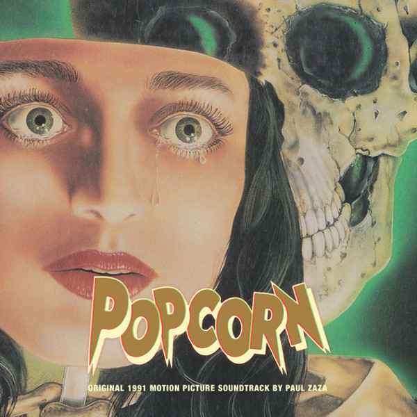 PAUL ZAZA: Popcorn (Original 1991 Motion Picture Soundtrack) LP
