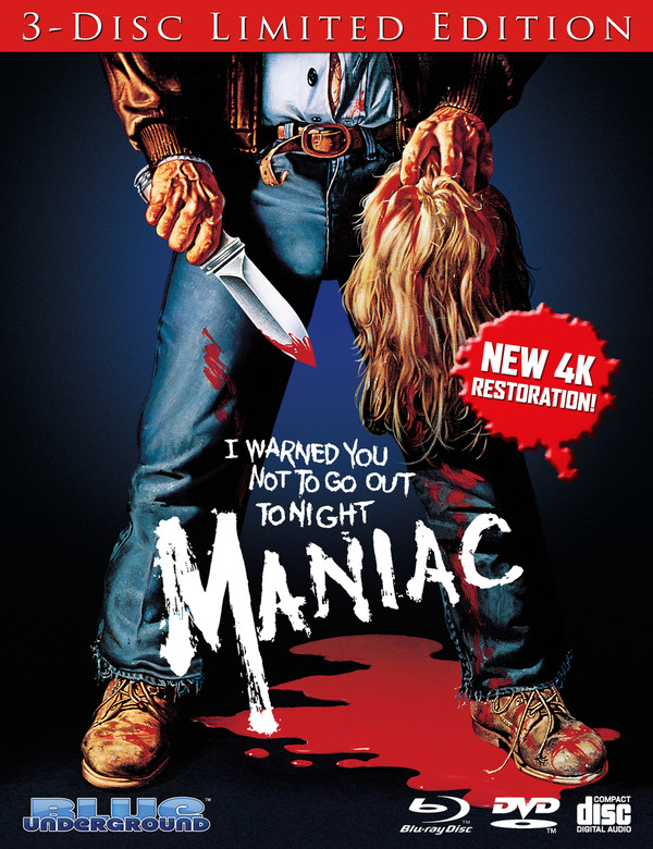 Maniac: Limited Edition Blu-Ray w/Bonus CD