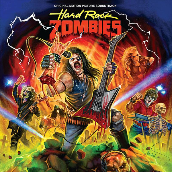 GREG EDMONSON: Hard Rock Zombies - Original Motion Picture Soundtrack LP