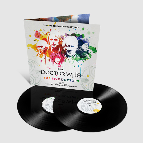 PETER HOWELL: Doctor Who: The Five Doctors 2LP