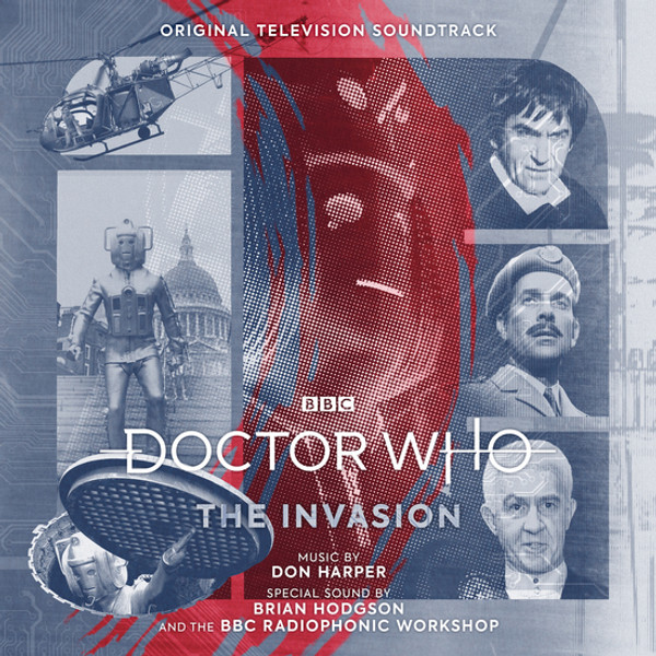 DON HARPER: Doctor Who: The Invasion LP