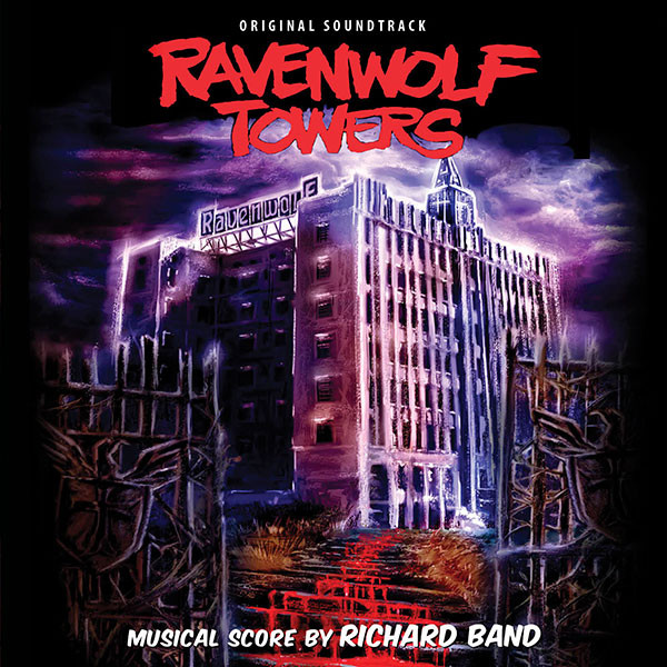 RICHARD BAND: Ravenwolf Towers (Original Soundtrack) CD