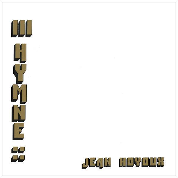 JEAN HOYOUX: III Hymne LP