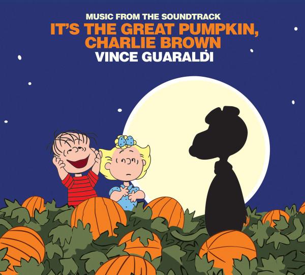 VINCE GUARALDI: It's The Great Pumpkin, Charlie Brown (Soundtrack) (etched B-side) LP