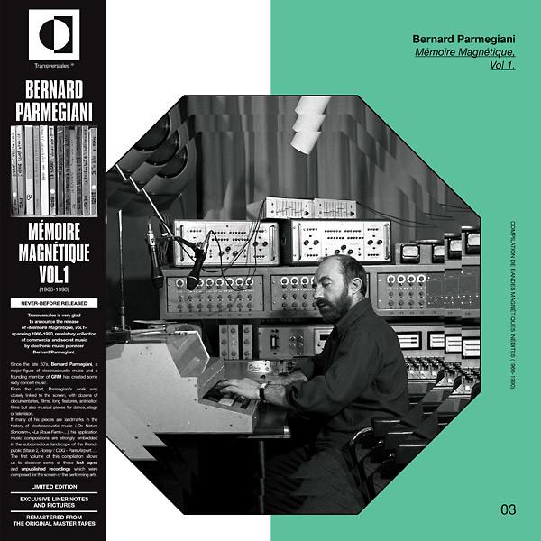 BERNARD PARMEGIANI: Mémoire Magnétique, Vol.1 LP