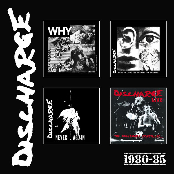 DISCHARGE: 1980-85 4CD