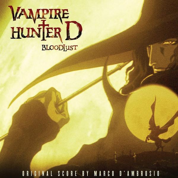 MARCO D'AMBROSIO: Vampire Hunter D: Bloodlust (Original Soundtrack) 2LP