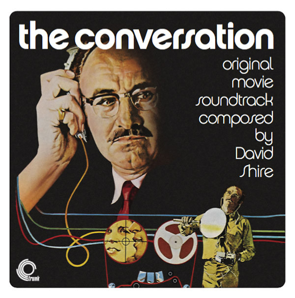 DAVID SHIRE: The Conversation - The Original Motion Picture Soundtrack LP