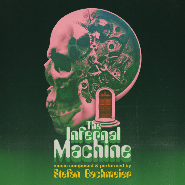 STEFAN BACHMEIER: The Infernal Machine (Solid Pink Skull with red leader) Cassette