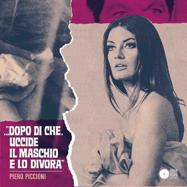 PIERO PICCIONI: Right Or Wrong / Once And Again (Reddish-Purple) 7""