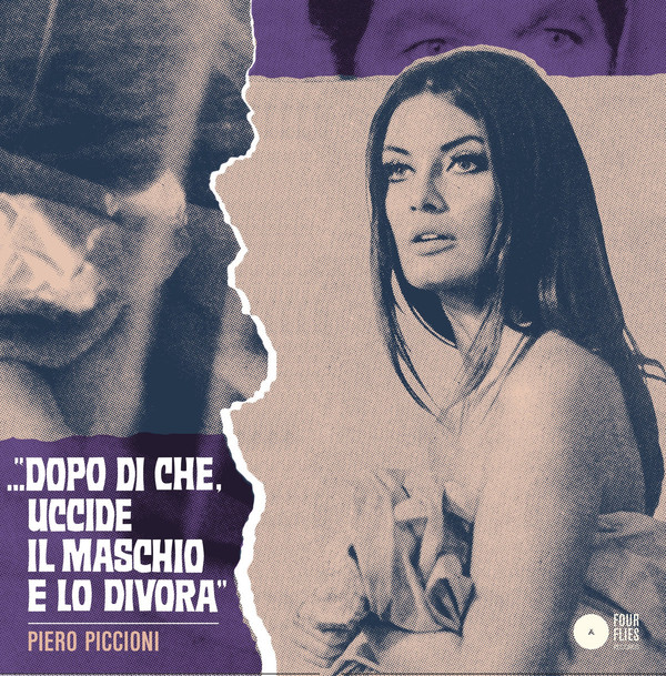 PIERO PICCIONI: Right Or Wrong / Once And Again (Violet) 7""