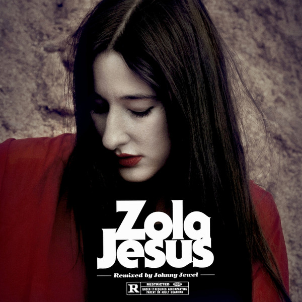 "ZOLA JESUS / JOHNNY JEWEL: Wiseblood (Johnny Jewel Remixes) 12"" EP"