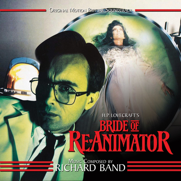 RICHARD BAND: Bride Of Re-animator: Original Motion Picture Soundtrack CD