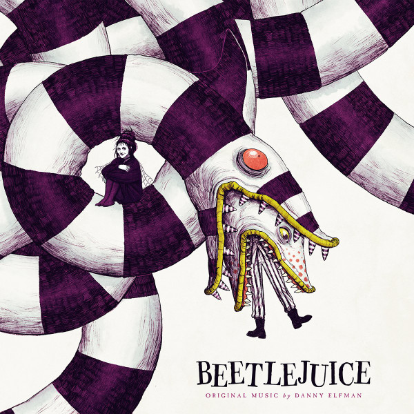 DANNY ELFMAN: Beetlejuice (Purple Swirl) LP