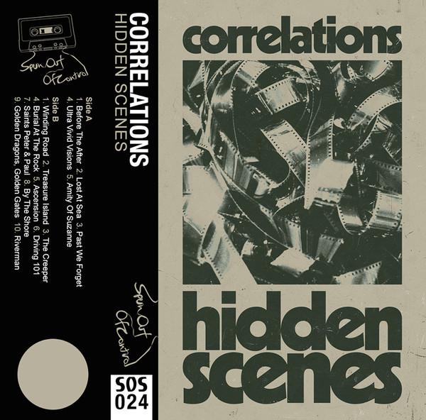 CORRELATIONS: Hidden Scenes (Dust Jacket Green) Cassette