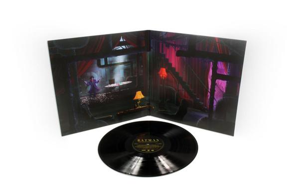 DANNY ELFMAN: Batman (1989 Original Motion Picture Score) LP