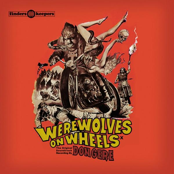 DON GERE: Werewolves On Wheels LP