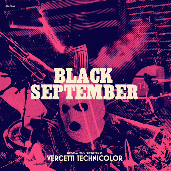 VERCETTI TECHNICOLOR: Black September Cassette