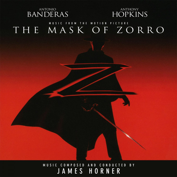 JAMES HORNER: Mask Of Zorro (Soundtrack) 2LP