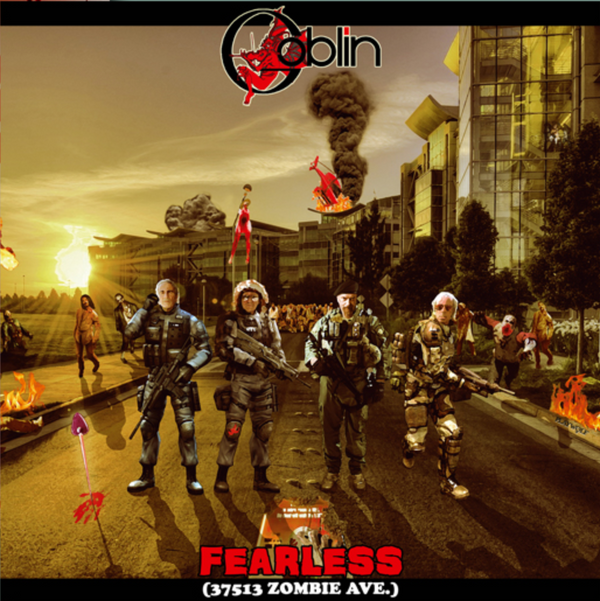 GOBLIN: Fearless (37513 Zombie Ave.) LP