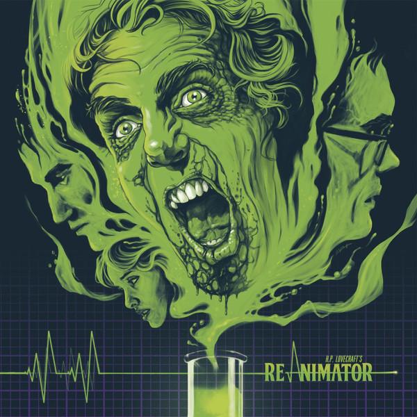 "RICHARD BAND: Re-Animator (Original Motion Picture Soundtrack) (""Re-Agent"" Splatter) LP"
