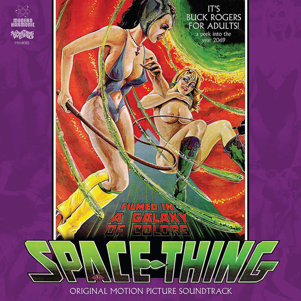WILLIAM CASTLEMAN: Space Thing: Motion Picture Soundtrack LP