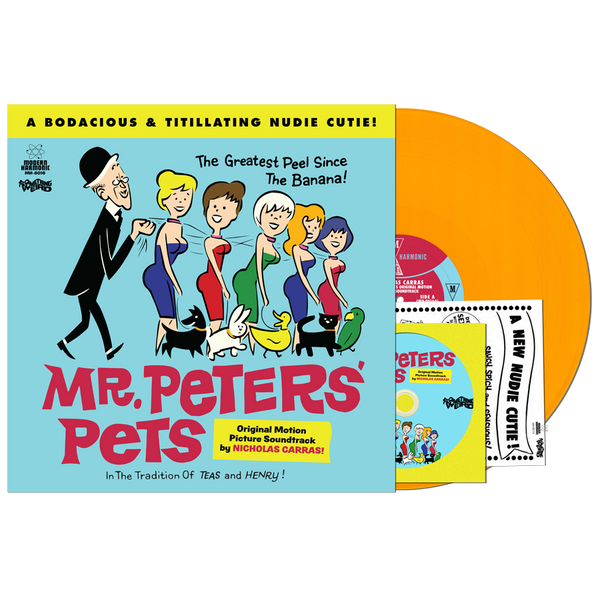 NICHOLAS CARRAS: Mr. Peters' Pets: Motion Picture Soundtrack LP
