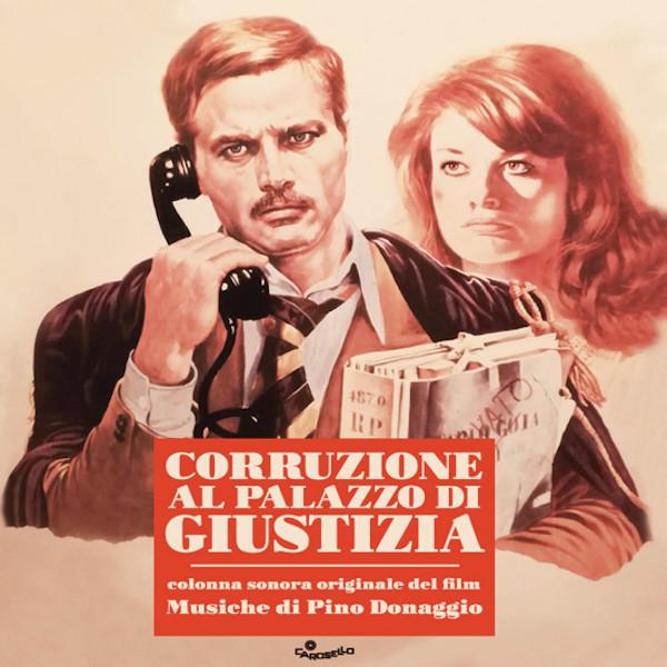 PINO DONAGGIO: Corruzione al palazzo di giustizia (Original Motion Picture Soundtrack) (UK/EU RSD Exclusive) LP