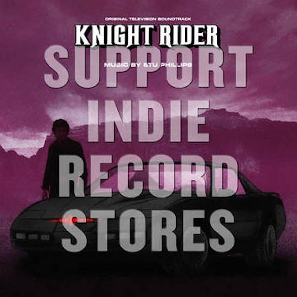 STU PHILLIPS: Knight Rider (Soundtrack) 2LP