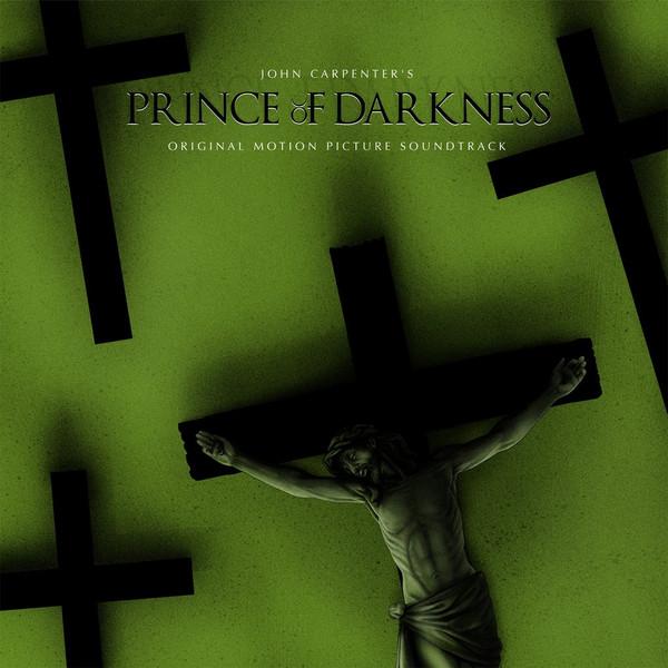 JOHN CARPENTER & ALAN HOWARTH: Prince of Darkness (Original Motion Picture Soundtrack) LP