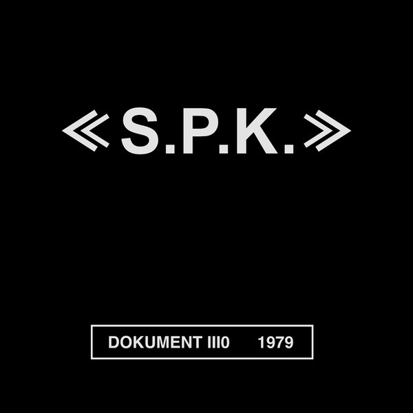 "SPK: Dokument IIIO 1979 (Edition 1) (Wooden Box) 3x7"" BOX"