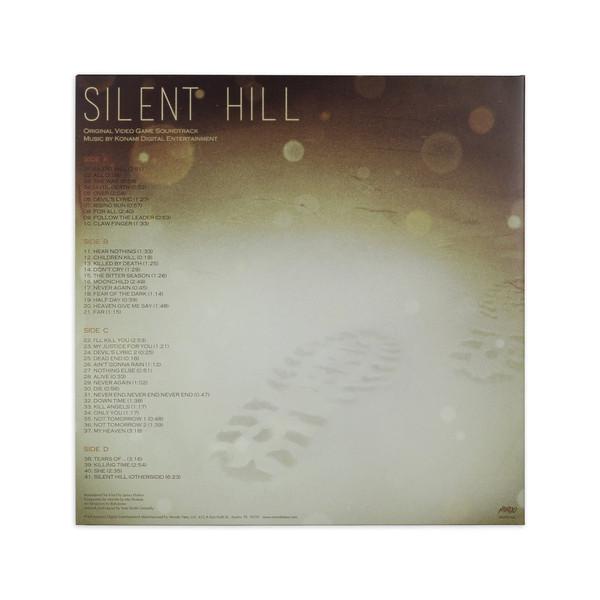 KONAMI DIGITAL ENTERTAINMENT: Silent Hill - Original Video Game Soundtrack (White Vinyl) 2LP